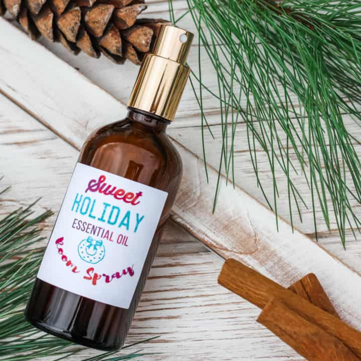 Cinnamon Essential Oil Room Spray
