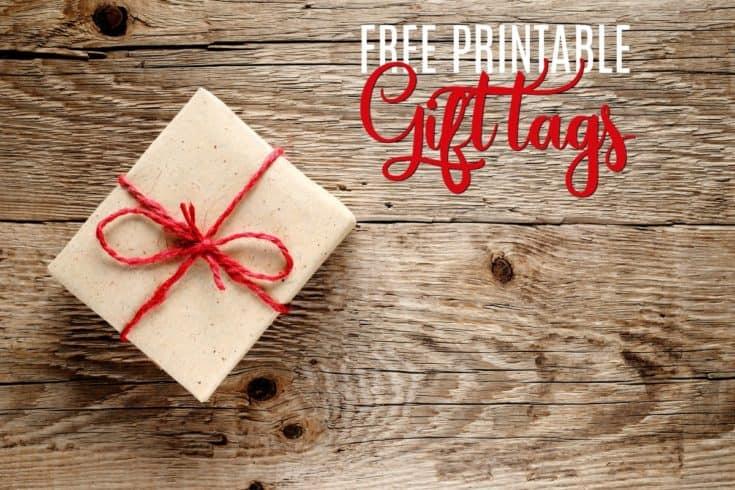 Free Printable Christmas Gift Tags for Everyone