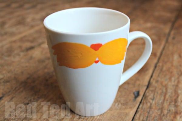Moustache Crafts - Mug Gift For Dad