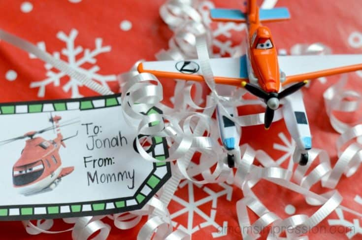 Free Printable Disney Planes Gift Tags - A Mom's Impression | Recipes, Crafts, Entertainment and Family Travel