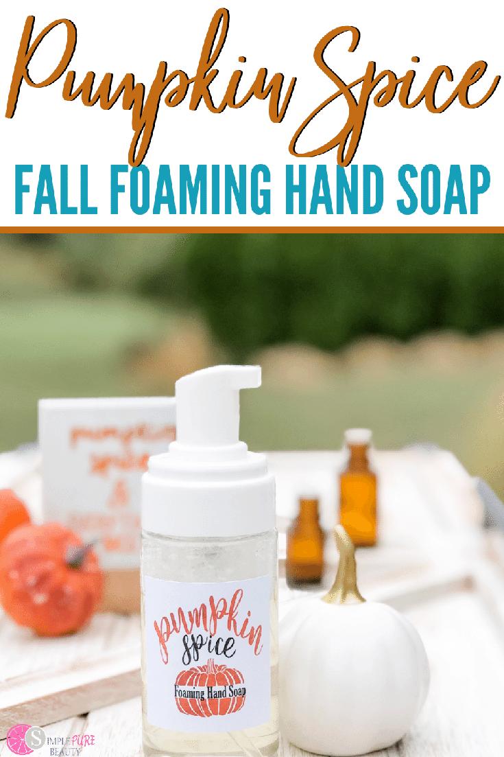 Pumpkin Spice Fall Foaming Hand Spray