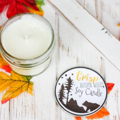 Woodsy Scented Soy Candle Recipe