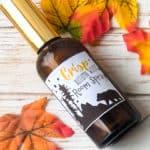 DIY essential oil room spray