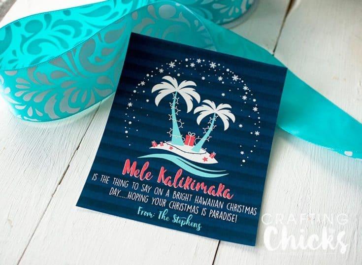 Mele Kalikimaka Christmas Gift