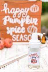 pumpkin natural soap using essential oils