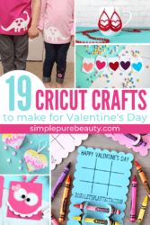 19 Cricut Crafts for Valentine's Day