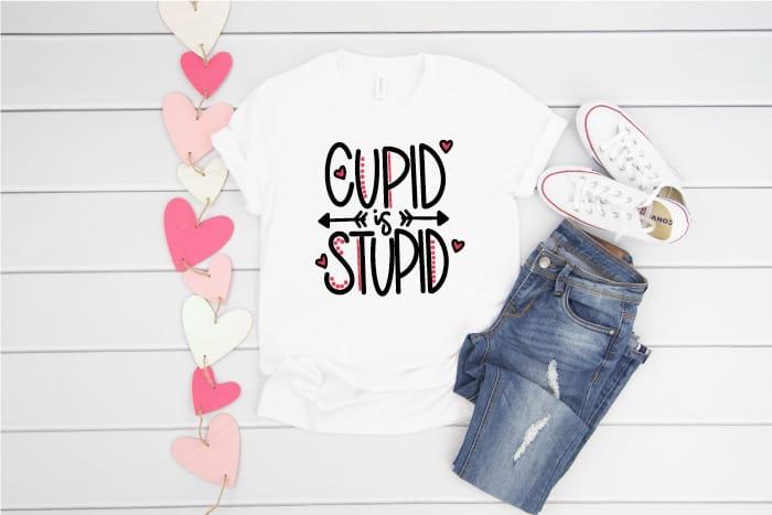 Cupid is Stupid SVG
