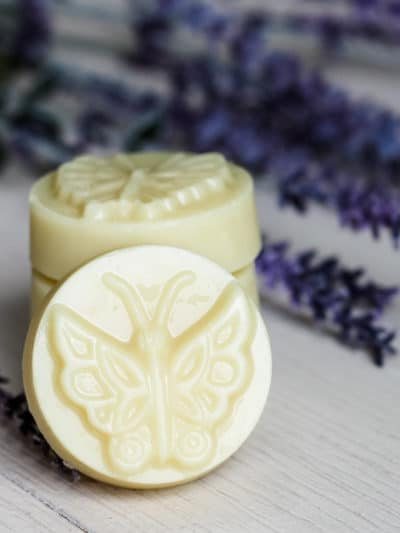 DIY Cocoa Butter Solid Lotion Bar Recipe