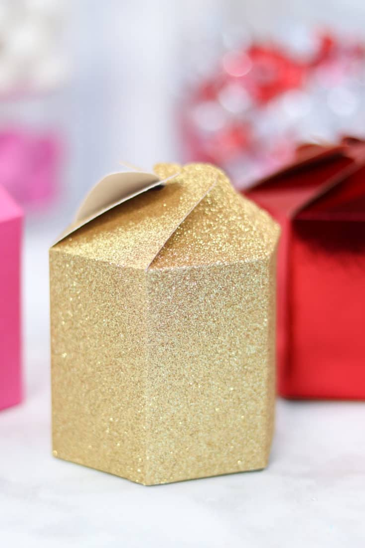 Valentine's Day Cricut Gift Boxes
