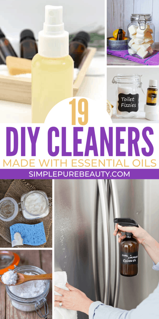 Cleaners with Essential Oils long pin