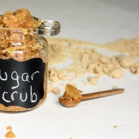 brown sugar scrub DIY