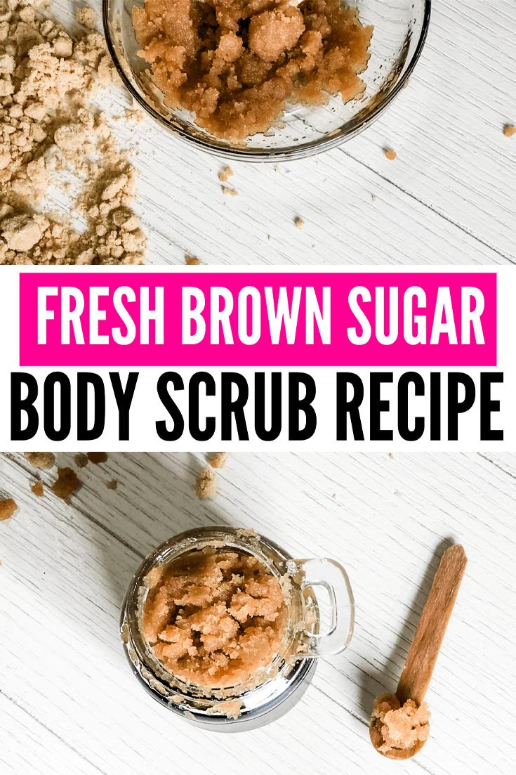 DIY Brown Sugar Body Scrub Recipe