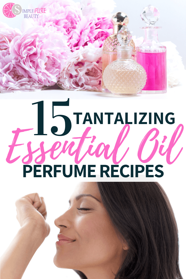 homemade essential oil perfumes