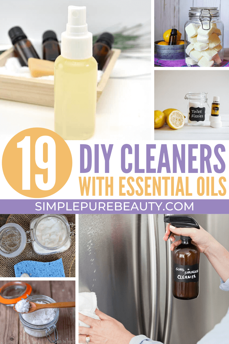 19 DIY Cleaning Products that Work!