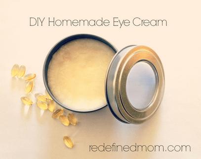 DIY Homemade Best Anti Aging Eye Cream