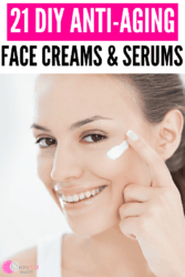 21 Effective Homemade Anti Aging Serums Anti Wrinkle Cream Recipes