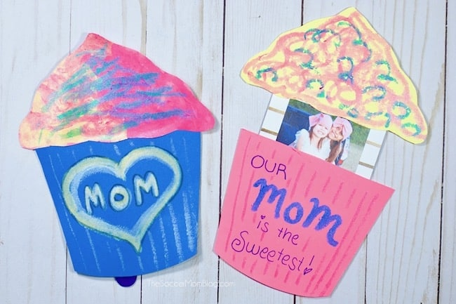 Pop-Up Cupcake Card for Mother's Day