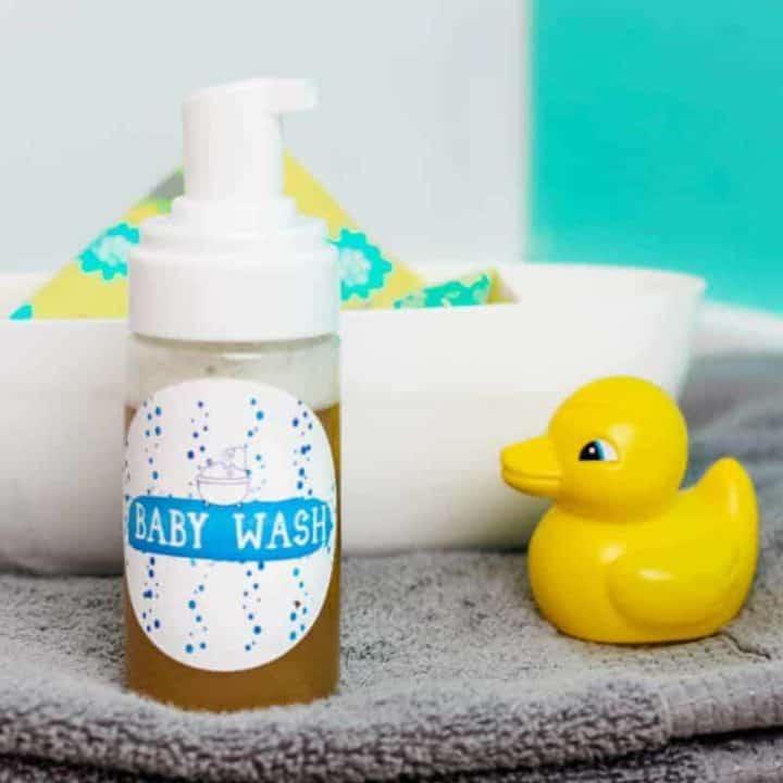 Calendula and Lavender Baby Wash Recipe