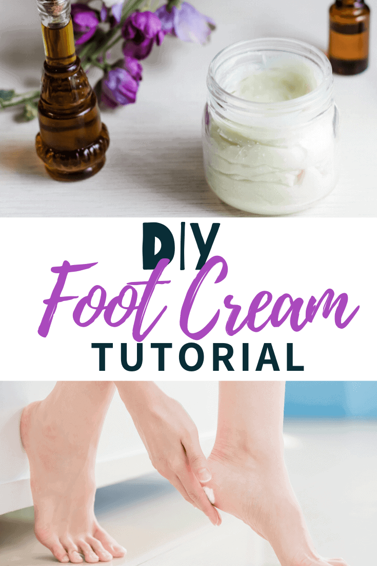 DIY foot cream for pain using CBD
