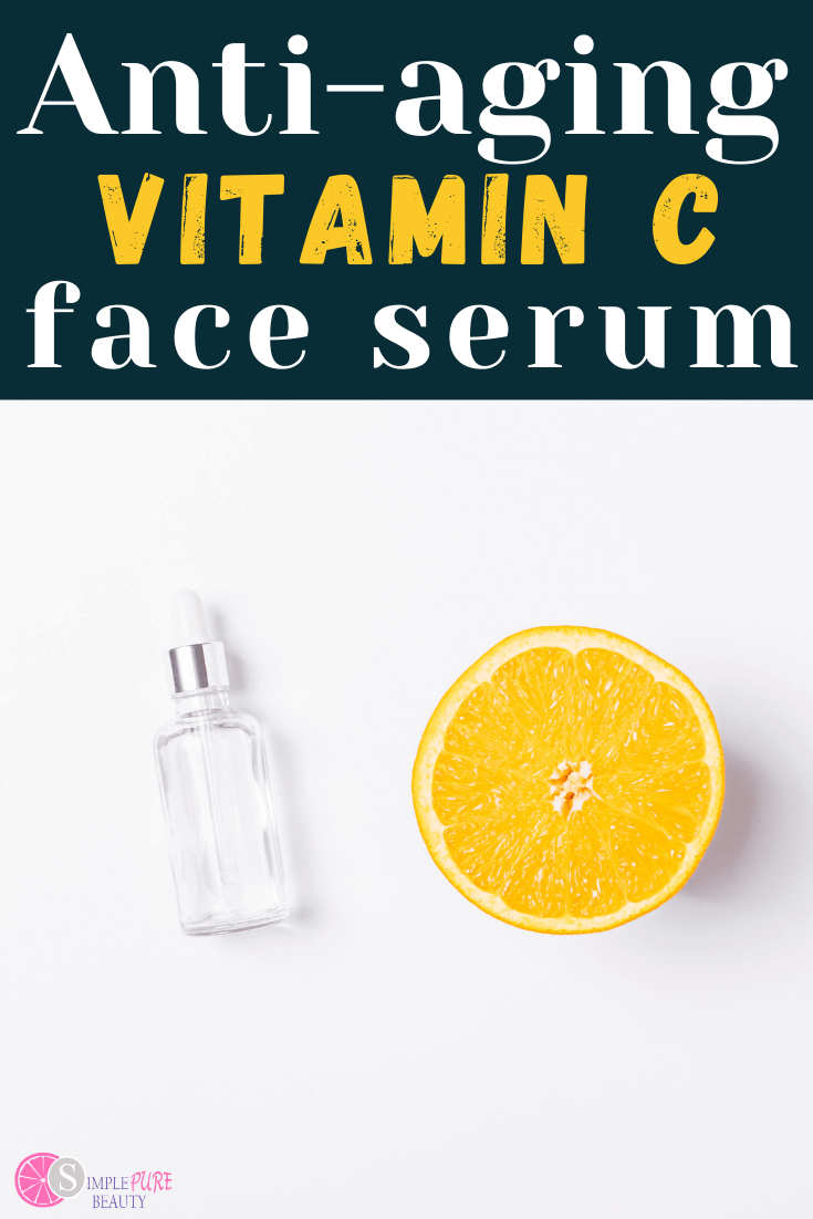 diy vitamin c serum in bottle