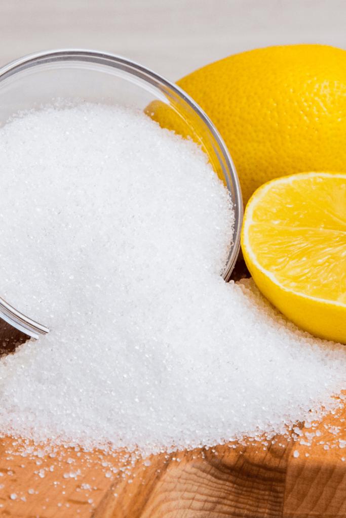 citric acid to adjust pH
