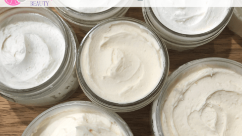 jars of non-greasy body butter