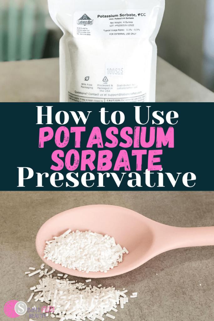 Potassium Sorbate Preservative