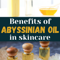 Abyssinian Oil Benefits for Skin