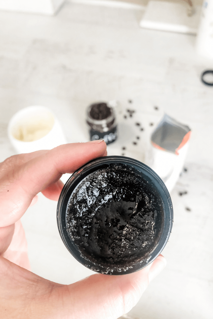 DIY Coffee Facial Scrub