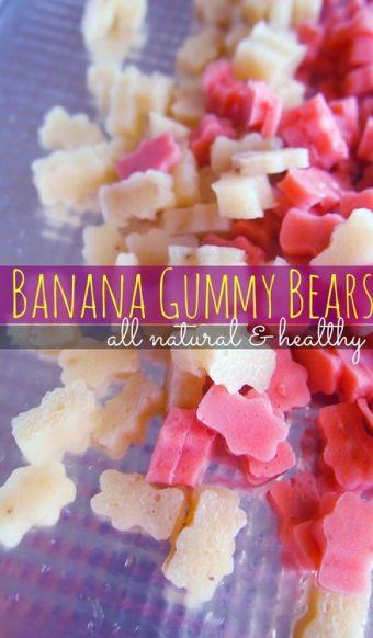 Banana Gummy Bears