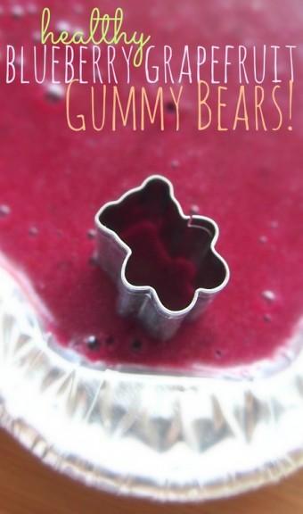 Blueberry Grapefruit Gummy Bears