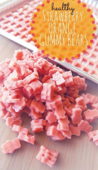 Strawberry Orange Gummy Bears