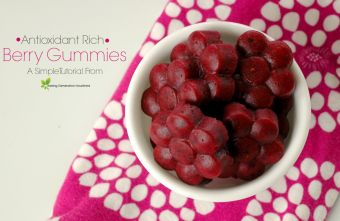 Anti-Oxident Rich Berry Gummies