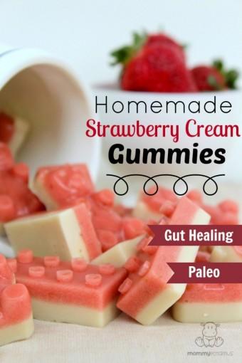 Strawberry Cream Gummies