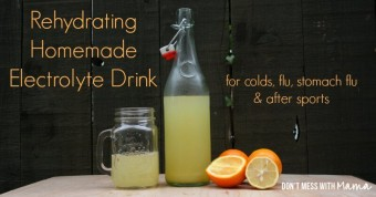 Homemade Citrus Electrolyte Drink