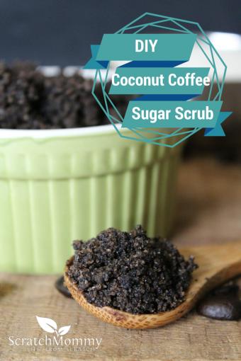 DIY Coconut Coffee Sugar Scrub