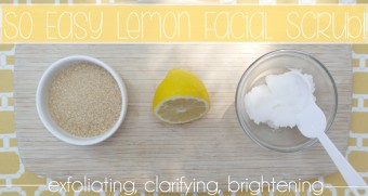 Lemon Sugar Facial Scrub