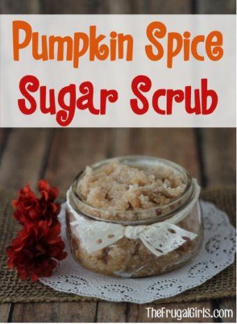 Pumpkin Spice Sugar Scrub Recipe