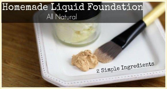 Flawless DIY Liquid Foundation