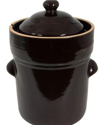 Fermenting Crock Pot, 5-Liter